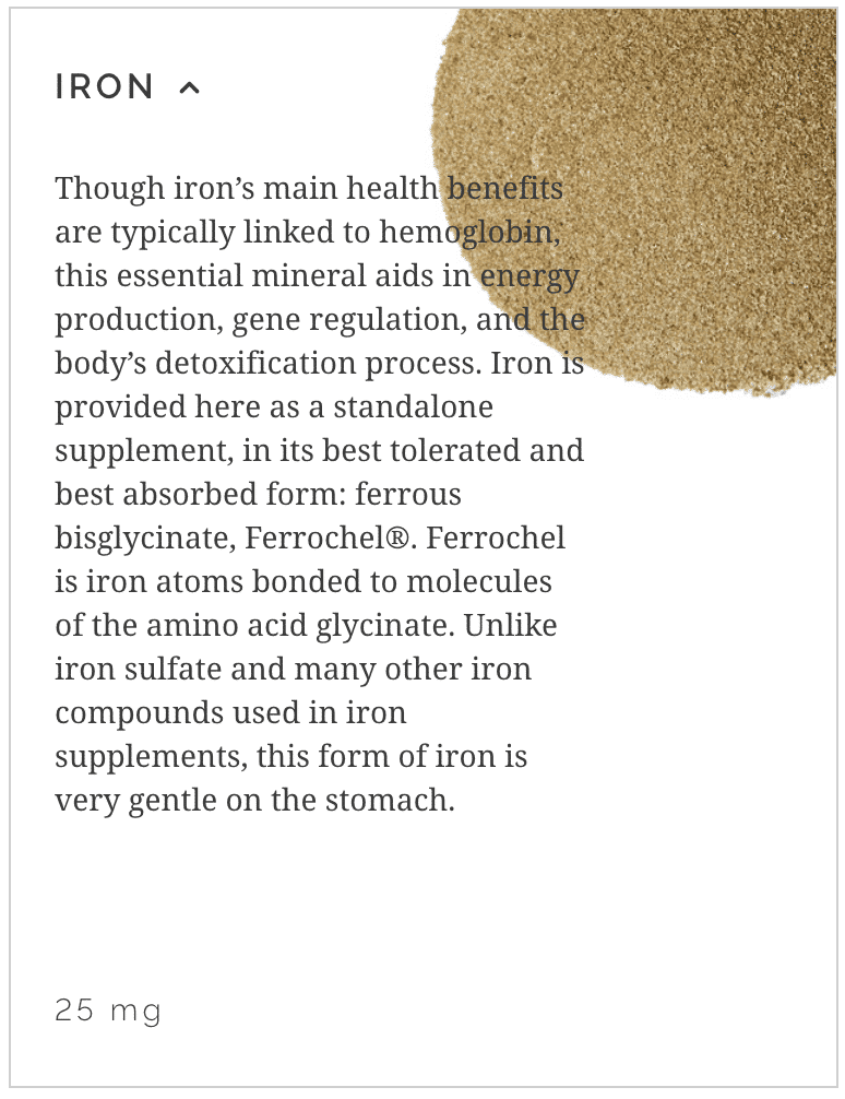 Learn More About Iron Supplements