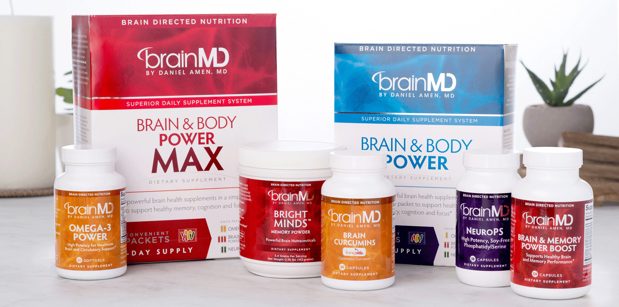 BrainMD Products