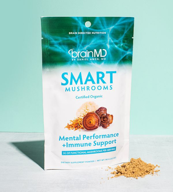 Shop Smart Mushroom Powder by BrainMD