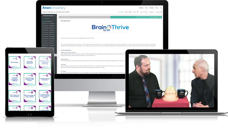 Brain Thrive by 25 Accredited Course