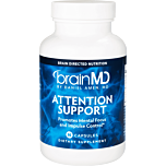 Attention Support promotes mental focus and impulse control