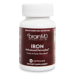 Iron - This essential mineral aids in energy production, gene regulation, and the body's detoxification process.
