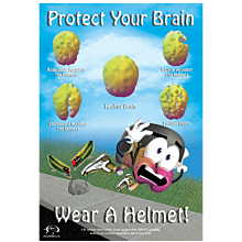 [Poster large] Protect Your Brain...