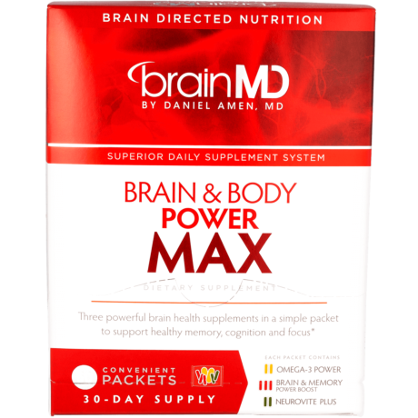 Brain And Body Power Max Memory Support