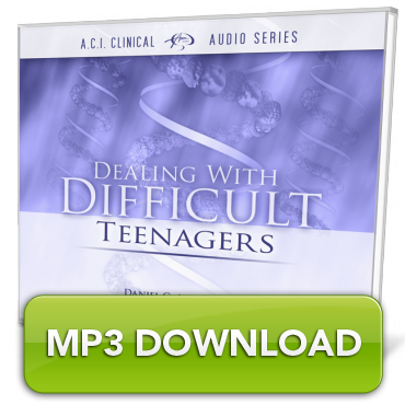 [MP3] Dealing with Difficult Teenagers